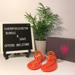 Tory Burch Mini Miller Jelly thong sandals